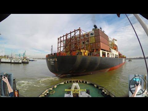 Dual Camera | Voith Schneider TugBoat | MSC Lieselotte