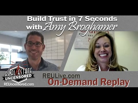 Build Trust in 7 Seconds Using Video with Amy Broghamer