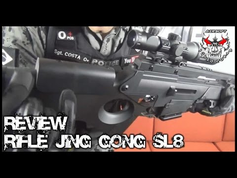 Review Completo Rifle Jing Gong SL8