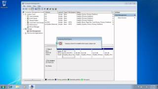 How to Shrink Hard Drive size on Windows 7