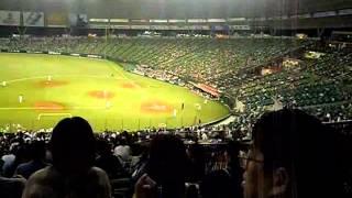 Япония. Бейсбол матч Lions VS Fighters 2012  часть 2