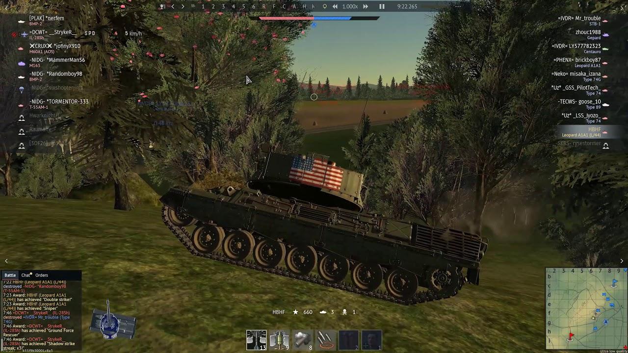 ESP & Aim hack : HBHF [War Thunder]