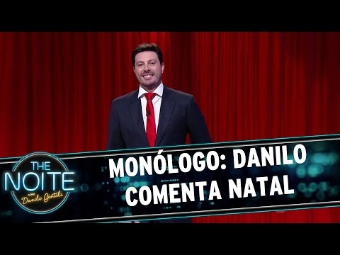 The Noite (25/12/15) - Monólogo: Danilo Comenta O Natal