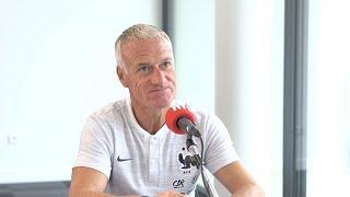 Didier Deschamps en interview sur RTL