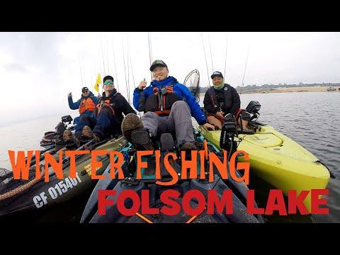 Folsom Lake: Winter Fishing