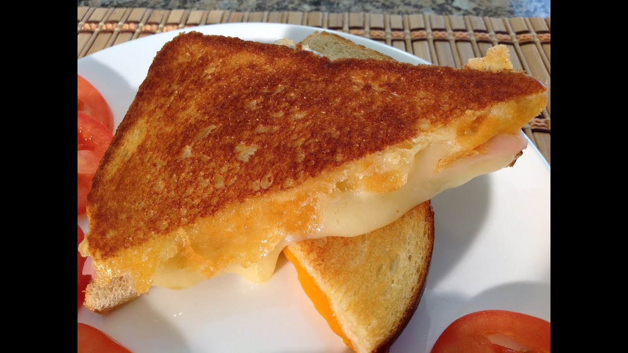 How To Make Grilled Cheese Sandwich Comfort Food Recipes Youtube