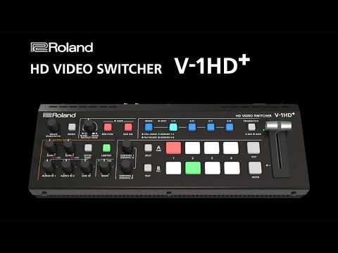Roland V-1HD+ Standalone HD Audio/Video Switcher
