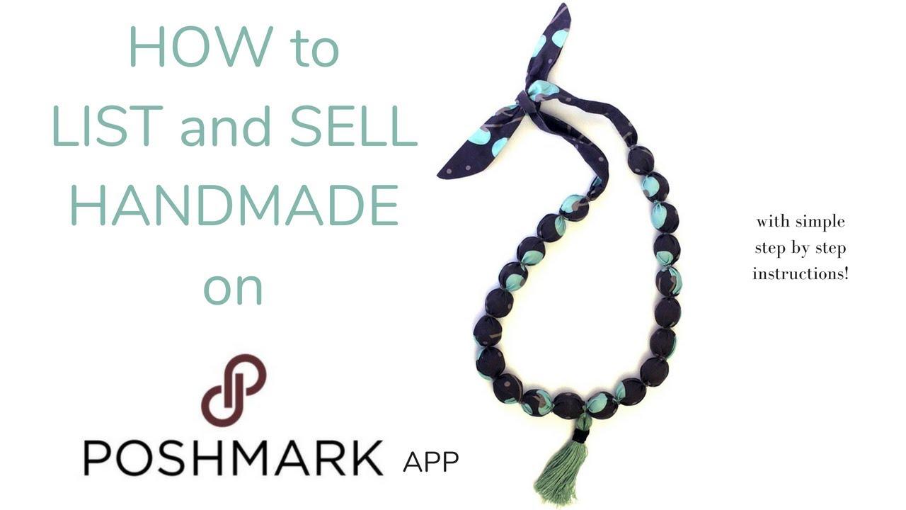 Sell Your Handmade Items On Poshmark Youtube
