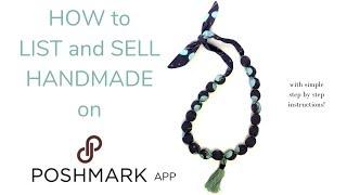 Sell your Handmade items on Poshmark!