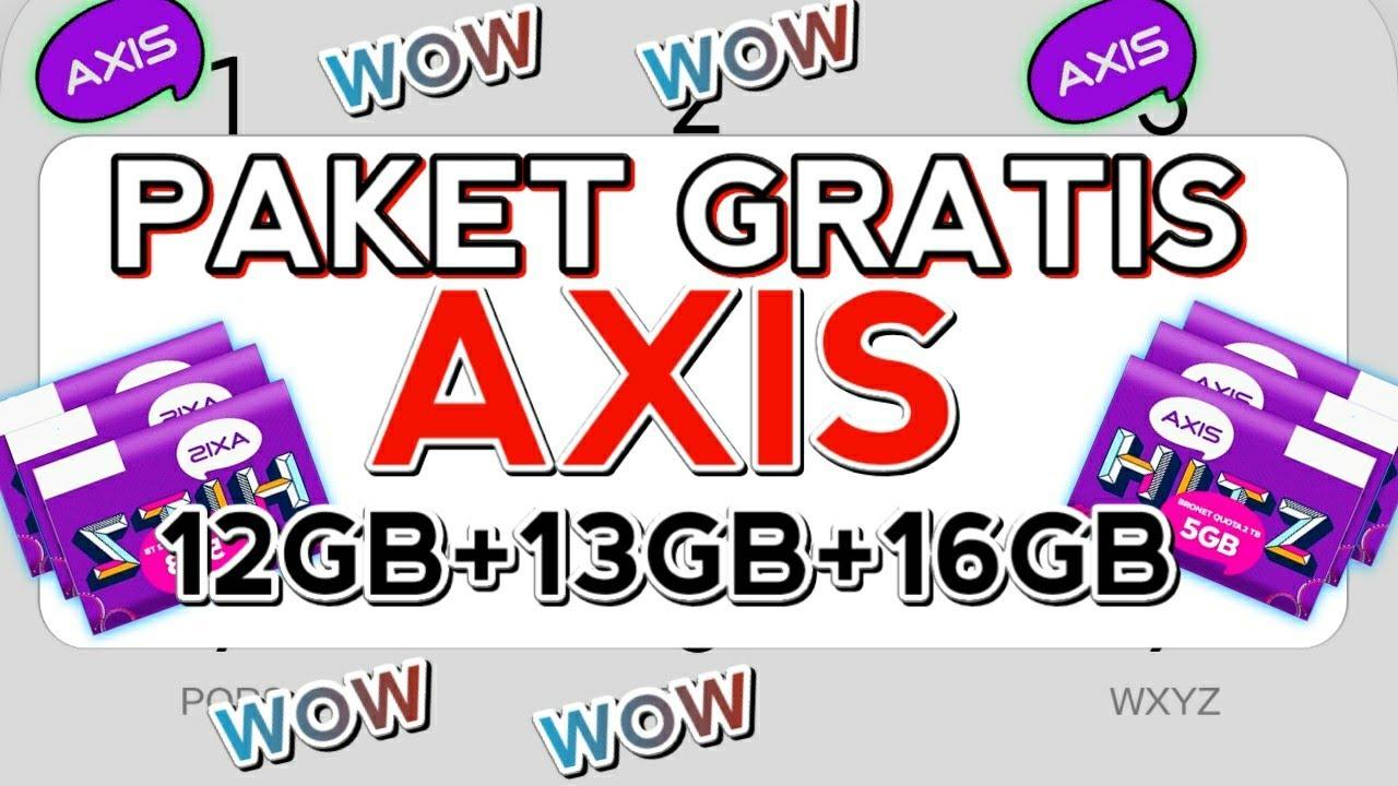 bongkar!! dial PAKET GRATIS AXIS terbaru 9gb tanpa Batas