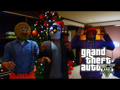 GTA 5 PC Online! - Christmas V.I.P Bodyguards (EXECUTIVES AND OTHER CRIMINALS UPDATE)