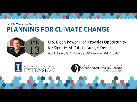 U.S. Clean Power Plan Provides Opportunity for Significant Cuts in Budget Deficits