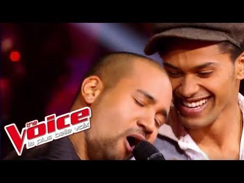 Stevie Wonder - Superstition | Thomas Mignot VS K. | The Voice France 2012 | Battle