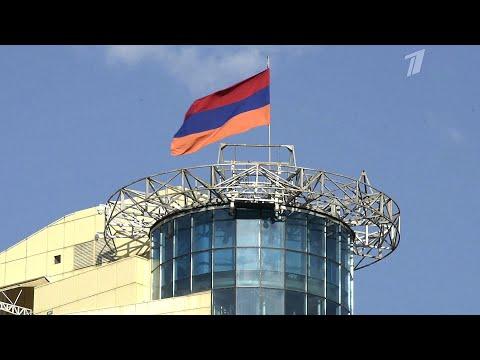 В.Путин поздравил президента и премьера Армении с национальным праздником - Днем независимости.