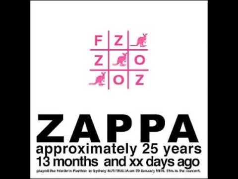 FRANK ZAPPA -  OZ (Sydney Autralia enero de 1976)