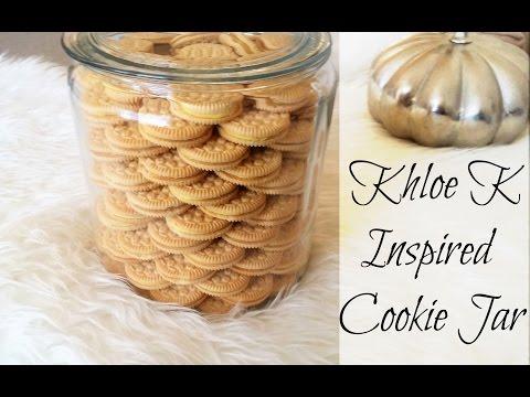 ❄️DIY Khloe K Inspired Cookie Jar ✨