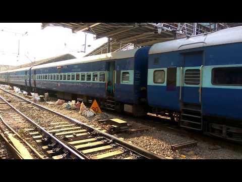 16381 Mumbai Kanyakumari Superfast Express departing from Kalyan