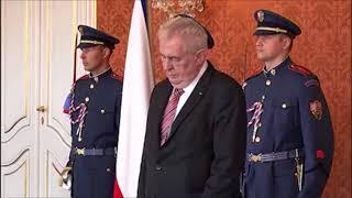 Miloš Zeman lže