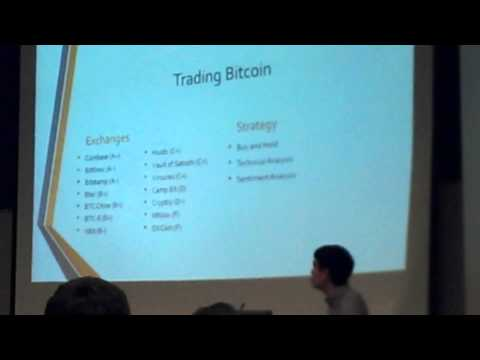 Financial Opportunities in Bitcoin - Stephen Pettyjohn speaks at UH