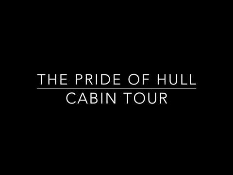 Pride of Hull ships cabin tour - P&O Ferries