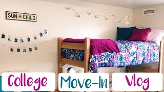 COLLEGE MOVE-IN DAY VLOG