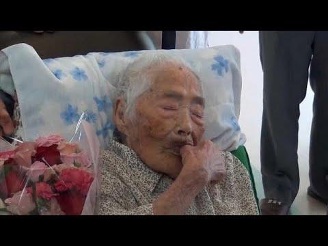 وفاة اليابانية نابي تاجيما أكبر معمرة في العالم عن 117 عاما  - نشر قبل 2 ساعة