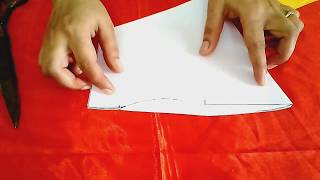 Perfect sleeves cutting for same size of arm hole | sewing tutorials | tailoring ladies