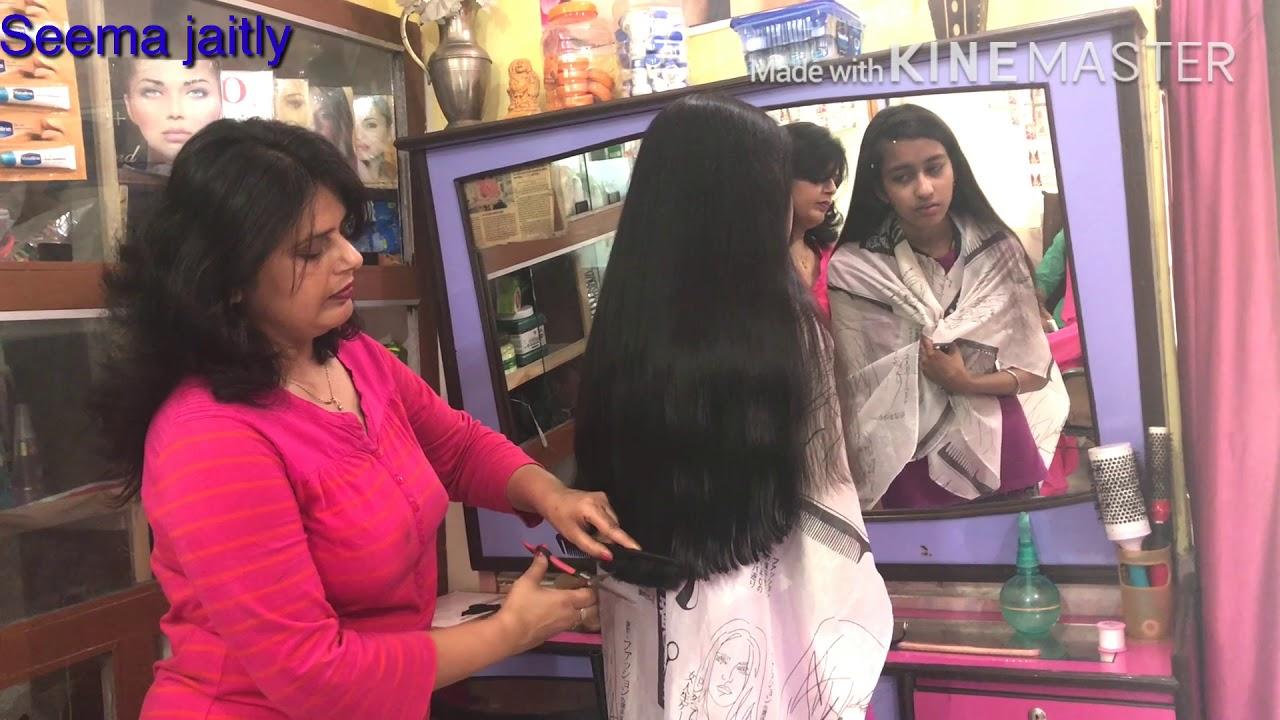 Long U Shape Hair Cut How To Cut U Shape Seema Jaitly