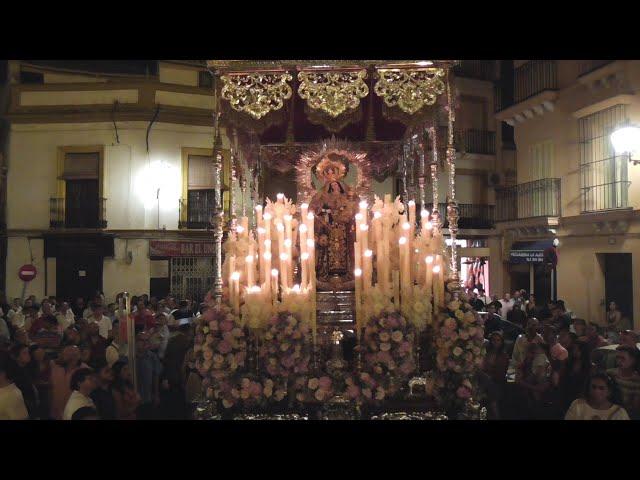 BM La Algaba - Virgen de la Paz - Virgen del Carmen de Santa Catalina saludo iglesia de San Román