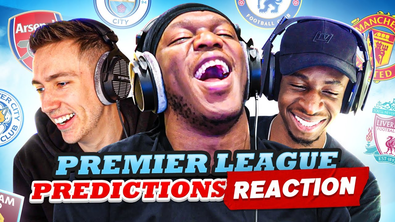 REACTING TO OUR PREMIER LEAGUE PREDICTIONS