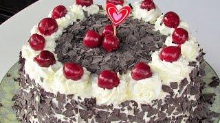 HOMEMADE BLACK FOREST CAKE - Recipe