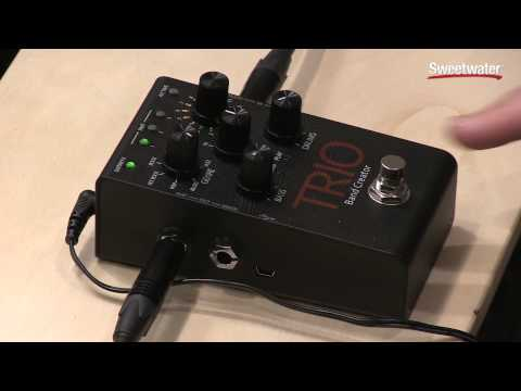 DigiTech Trio Band Creator Pedal Review by Sweetwater Sound