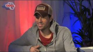 Enrique Iglesias Interview Backstage at Capital FM's Summertime Ball 2011