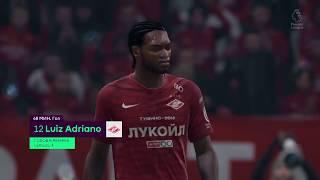 Смотреть видео FIFA 19 карьера за Спартак Москва в чемпионате Англии #6 онлайн