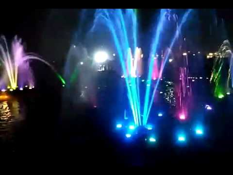 Musical fountain  LUCKNOW