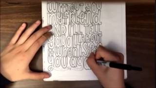 Speed Drawing: See You Again by Wiz Khalifa ft. Charlie Puth