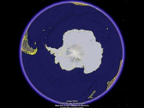 antartida mapa Mapa secreto de la Antártida revela cómo llegar a Tierra Hueca  antartida mapa