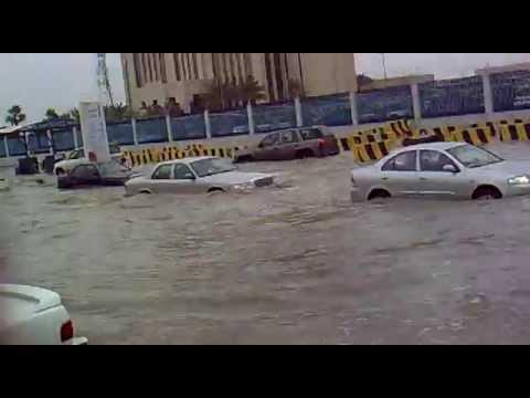 rain in mursalath  near stc riyadh saudi arabia (video posted shameer vellila)