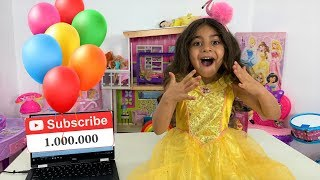 1 Million Subscribers! Surprise Party and Toys for Sally funtube