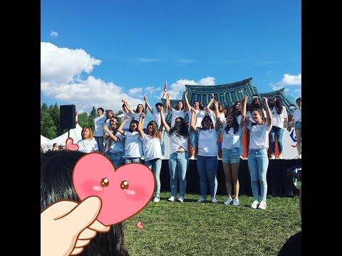 Kpop Dance Performance In Edmonton Heritage Festival 2017 August