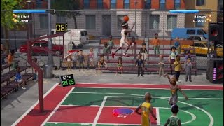 Nba playgrounds  Legendary LEBRON and SHAQ! #Insane