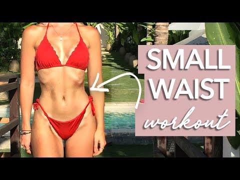 Hard 7 Minute Small Waist Workout (NO EQUIPMENT)