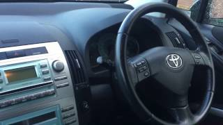 Toyota Corolla Verso Pollen Filter replacement