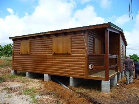 Como hacer una casa de madera economica youtube - Casas economicas de madera ...