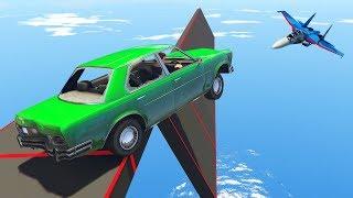 Угарный скилл-тест на медленной машине! Гонки в GTA 5 Online | MYE