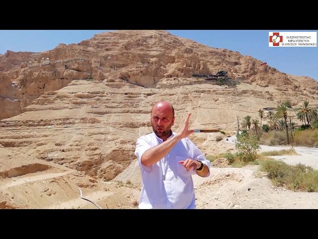 Izrael - Góra kuszenia