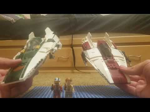 Lego Star Wars Resistance A-Wing Review