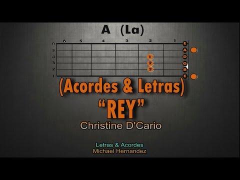 Rey - Christine D'Clario │ Tutorial de Guitarra (Acordes & Letras)