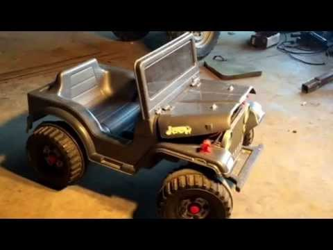 Power Wheels/Fisher-Price Acceleration Switch Installation Video.