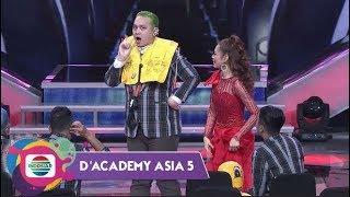 Lucu Banget!! Gimana Jadinya Kalau Gilang Dirga Jadi Pramugara Ya? - D'Academy Asia 5